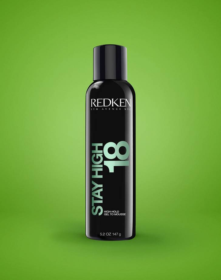 Stay High 18 High-Hold Gel To Mousse Fra Redken