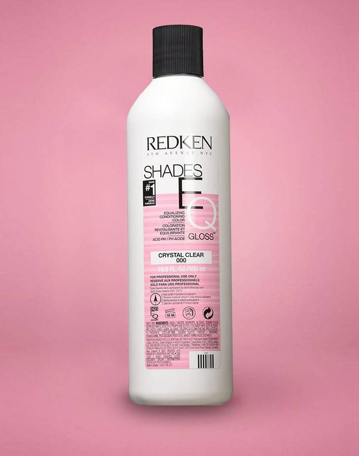 Shades EQ Crystal Clear 000 Fra Redken